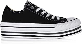 Luxury Fashion | Converse Womens 563970C034 Black Sneakers | Season Permanent