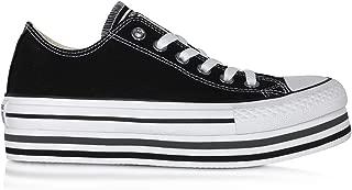 Luxury Fashion | Converse Womens 563970C034 Black Sneakers | Season Permanent