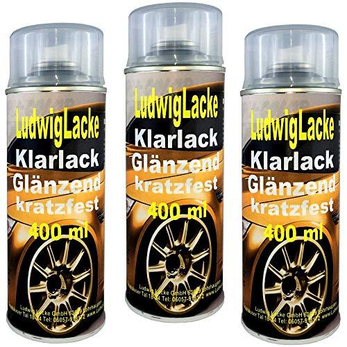 Klarlack glänzend Spraydose 3 x 400ml