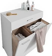 Suchergebnis Auf Amazonde Für Badschrank Mit Wäschekippe