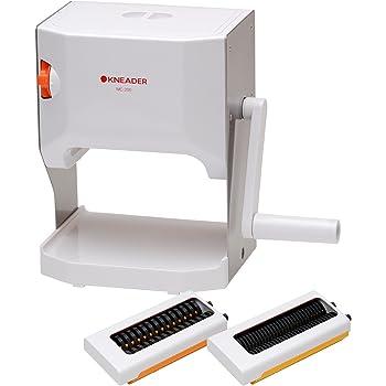 日本ニーダー(KNEADER) 洗えるパスタマシン 製麺機 「麺や」(麺カッター2mm・4mm) MCS202