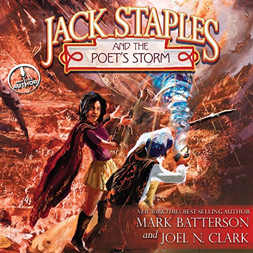 Jack Staples and the Poet's Storm audiobook cover art