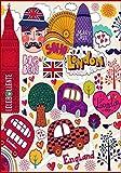 LONDON: I Love London, England, Afternoon Tea, Big Ben, Soho, Mary Axe Building, London Cabs, London Bus, Royal Guards, London Eye.