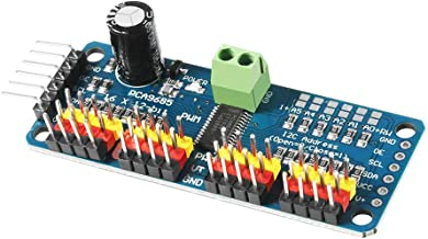 Dorhea PCA9685 16 Channel 12 Bit PWM Servo Driver Board IIC Interface PCA9685 Module Controller for Arduino and Raspberry Pi