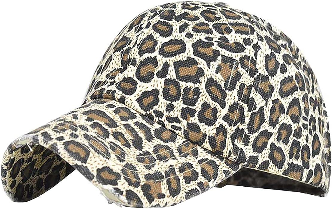 Adjustable Cap Cotton Hat Cross Baseball Cap Distressed Outdoor Headdress Old Chapeau