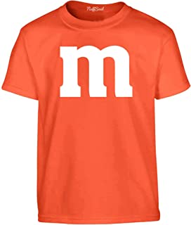 NuffSaid Youth Colorful M Candy Halloween Group Costume T-Shirt - Best Friend's Tee