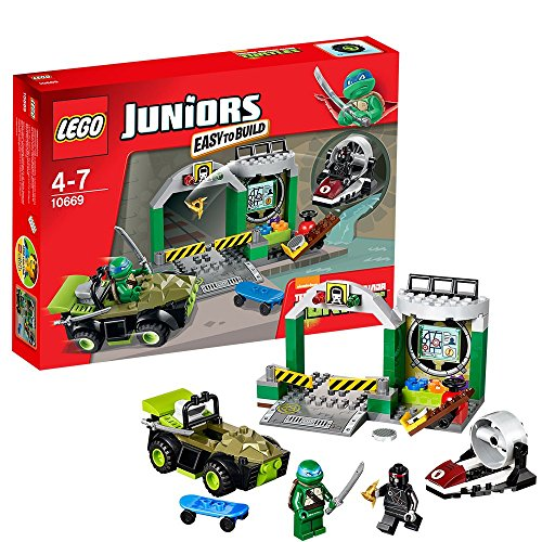 LEGO Juniors 10669 - Turtle Versteck