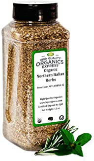 Sponsored Ad - HQOExpress | Organic Northern Italian Seasoning | 12 oz. Chef Jar