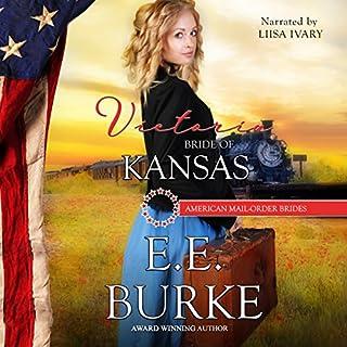 Victoria: Bride of Kansas audiobook cover art
