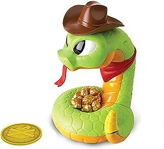 Yoshotech Serpent à Sonnette éLectrique, pour Les Enfants De La Famille, Vert