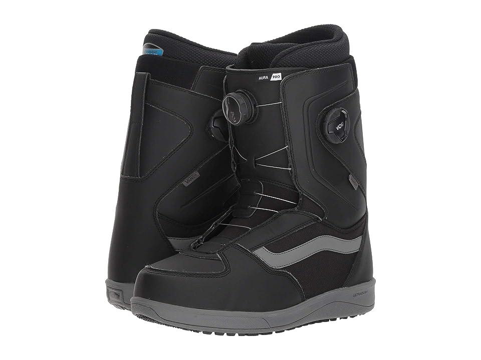 8960567c72911 Vans Auratm Pro  18 (Black Grey) Men s Snow Shoes