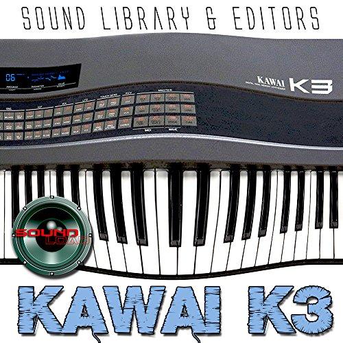 Kawai K3–Große Original Factory und neue Sound Library und Editors auf CD oder Download