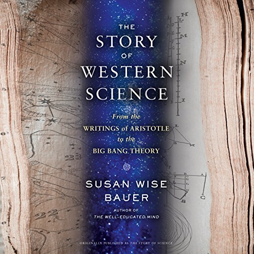 The Story of Western Science audiobook cover art