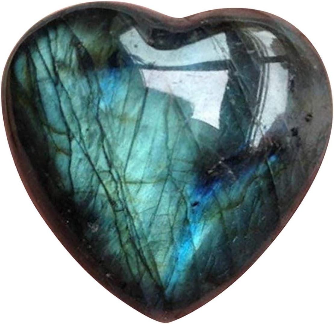 BIMUS 1pc Natural Moonstone Max 84% OFF Crystal Palm Stone wholesale Heali Labradorite