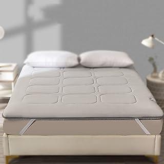 Mattress Topper, Futon Tatami Mattress, Thickness 5Cm Dormitory Foldable Mat, Pure Cotton Student Japanese Double Single G...