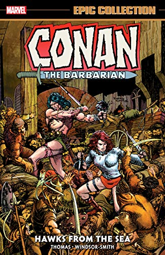 Conan The Barbarian Epic Collection: The Original Marvel Years - Hawks From The Sea (Conan The Barbarian (1970-1993)) (English Edition)