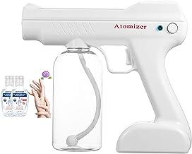 Onmedics Pistola Sanitizante Inalámbrica Desinfectante Recargable Con Luz Ultravioleta DS350 Blanca.