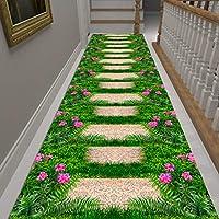 廊下カーペット 素敵な3Dカーペットマット、屋内/屋外/廊下/ホール/玄関滑り止めラグランナー、赤ちゃん/ペットクロールマットプレイパッド3m / 4m / 5m / 6m長さ (Size : 80×450cm)