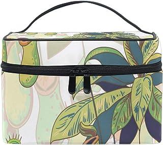 メイクポーチ ウツボカズラ ハエトリグサ 化粧ポーチ 化粧箱 バニティポーチ コスメポーチ 化粧品 収納 雑貨 小物入れ 女性 超軽量 機能的 大容量