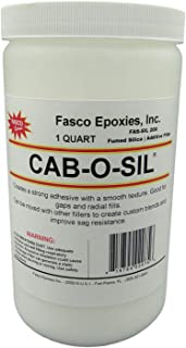 Cabosil - Fumed Silica Thickener in Quart Tub