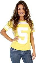TMNT Teenage Mutant Ninja Turtles April O' Neil 5 Yellow Costume T-shirt