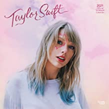 Taylor Swift 2021 12 x 12 Inch Monthly Square Wall Calendar, Music Pop Singer Songwriter Celebrity