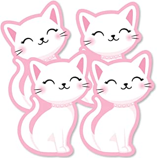Big Dot of Happiness Purr-fect Kitty Cat - Decorations DIY Kitten Meow Baby Shower or Birthday Party Essentials - Set of 20