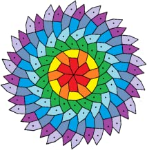 free coloring : art therapy