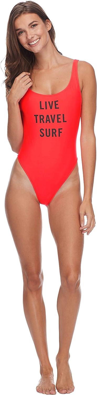 卓抜 EIDON Women's Jenny High Hip Swimsuit Piece One 40%OFFの激安セール Scoop Back