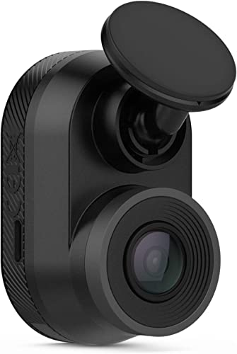 Garmin Dash Cam Mini, Car Key-Sized Dash Cam, 140-Degree Wide-Angle Lens, Captures 1080P HD Footage, Very Compact wit...
