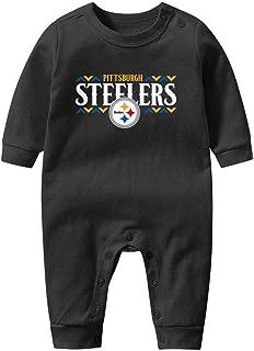 Baby Boy's Unisex Footed Pajamas Soft Pajamas Long Sleeve Pajama 100% Cotton Romper