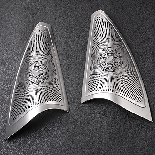 Estilizador de automóviles Altavoces de la puerta de autos Cubrir protección estéreo Etiqueta engomada / ajuste para Mercedes Benz ML W166 GLE Coupe C292 GL X166 GLS ( Color Name : For w166 x166 )