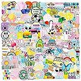 Pegatinas Estéticas de Vsco,Stickers vsco Estéticas para Portátil,Sticker Pack para Laptop,Pegatinas de Vinilo para Ordenador PortáTil,Pegatinas para Computadora Portátil,Impermeable Stickers (A)