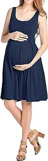 Beachcoco Women's Maternity Knee Length Tank Dress Made in USA