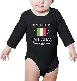 Unisex Baby Long Sleeve Bodysuit Cotton Prismatic Sugar Skull Funny Cute Onesies