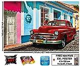 Photo papier peint Cuba décoration murale Cuba voiture de Collection patrimoine...