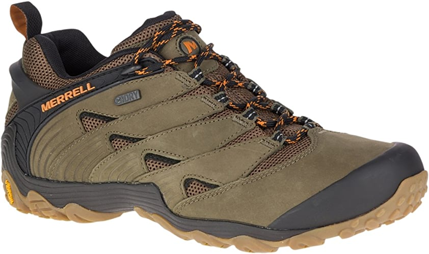 Merrell Men's Chameleon 7 Waterproof Hiking chaussures, Dusty Olive, 12.0 M US