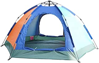 Image of MARKER Tent for Camping Tent, Can Accommodate 2 Or 3 People, Lightweight, Windproof, 2 Doors, Double Aluminum Pole, Suitable for Camping, Family, Beach, Hunting, Hiking, Travel