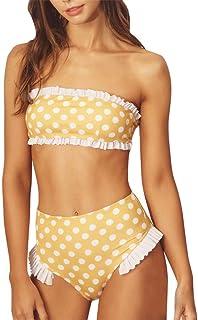 1f7bea3480ab Amazon.es: Amarillo - Bikinis y Braguitas / Braguitas y culottes: Ropa