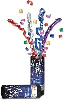 Beistle 80900 24-Piece MC New Year Confetti Bursts