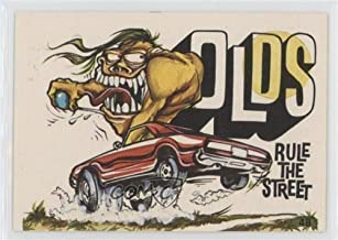 odd rods trading cards