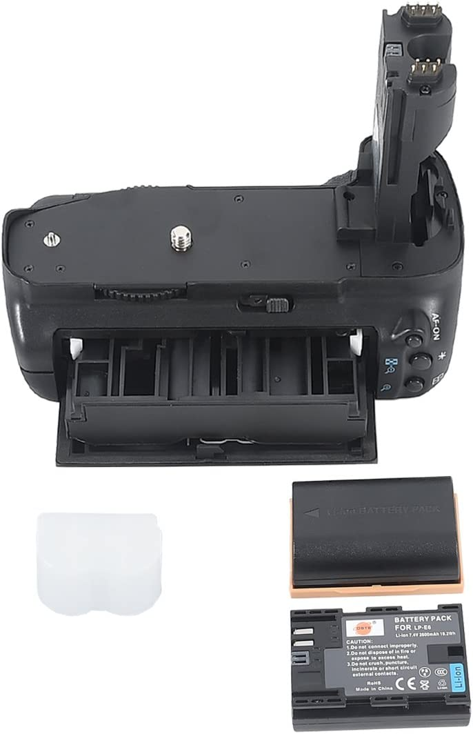 DSTE Replacement for Pro BG-E7 Ranking TOP7 BGE7 + Vertical 2X Battery L Now on sale Grip