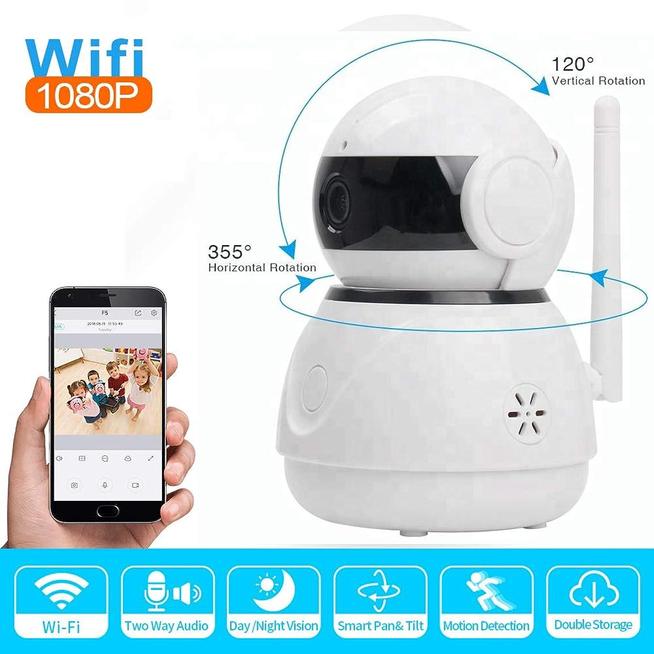 HD IP Camera, 2.0MP Indoor and Outdoor Security Camera1080p Cloud Storage Two-Way Call 360° Pan/Tilt Pan/Tilt/Zoom Motion Detection