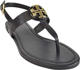 Tory Burch Bryce Flat Thong Sandal Veg Leather