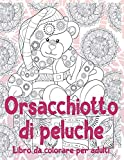 Orsacchiotto di peluche - Libro da colorare per adulti