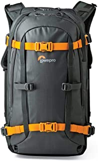 Lowepro Whistler 450 AW 4-Season Ultra-Resistant Backpack for Outdoor Photography Equipment and Essential Wilderness Gear, Black, (LP36897-PWW)