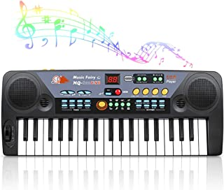 Shayson Piano Keyboard for Kids, 37-Key Keyboard Piano with MP3 Function & Microphone, Portable Electronic Keyboard for Mu...