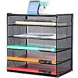 Samstar Organizador de papel para bandeja de cartas, organizador de archivos de escritorio...