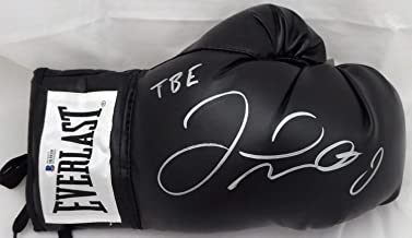 Authentic Autographed Floyd Mayweather Jr. Black Everlast Boxing Glove RH TBE Beckett BAS Stock #159656