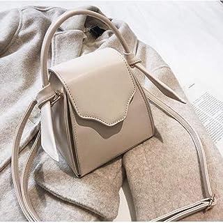 LHKFNU Triangle Design Bucket Style Pu Women Totes Casual Tote Designer Bag Crossbody Mini Messenger Bag For Women Shoulder Bag